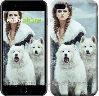 "Чехол на iPhone 7 Plus Winter princess ""4048c-337-19414"""