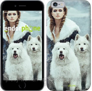 "Чехол на iPhone 6s Winter princess ""4048c-90-19414"""