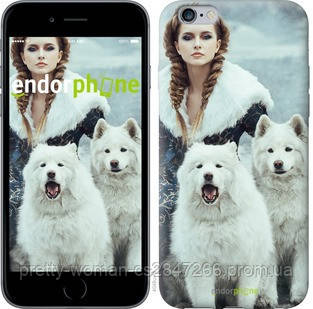 "Чехол на iPhone 6 Plus Winter princess ""4048c-48-19414"""