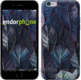 """Чехол на iPhone 6s Plus Листья v3 """"3328c-91-19414"""""""