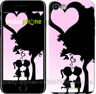 "Чехол на iPhone 7 Искренняя любовь ""1628c-336-19414"""
