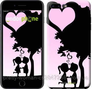 "Чехол на iPhone 7 Plus Искренняя любовь ""1628c-337-19414"""