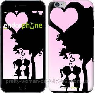 "Чехол на iPhone 6 Plus Искренняя любовь ""1628c-48-19414"""