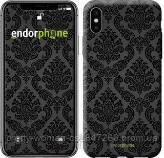 "Чехол на iPhone X Винтажный узор ""2269c-1050-19414"""
