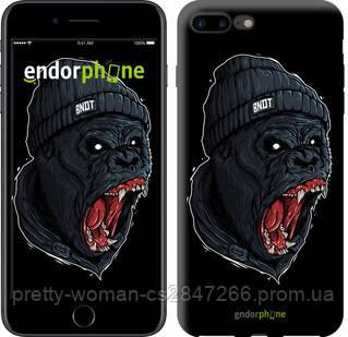 """Чехол на iPhone 8 Plus Обезьяна в яросте """"4137c-1032-19414"""""""