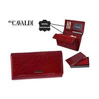 Гаманець жіночий Cavaldi з кольорами (червоний) Польща код 361