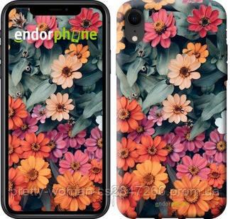 """Чехол на iPhone XR Beauty flowers """"4050c-1560-19414"""""""