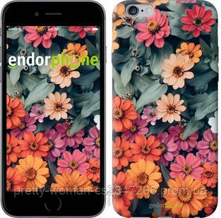 "Чехол на iPhone 6 Plus Beauty flowers ""4050c-48-19414"""