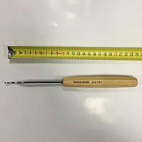 Стамеска-клюкарза полноразмерная, полукруглая, лево-скошенная Pfeil SWISS MADE No 2a/2l