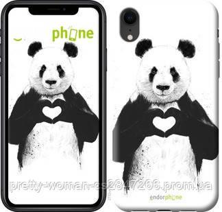 "Чехол на iPhone XR All you need is love ""2732c-1560-19414"""