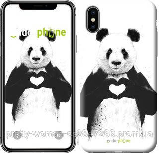 "Чехол на iPhone X All you need is love ""2732c-1050-19414"""