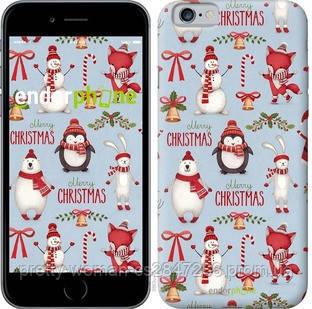 "Чехол на iPhone 6 Рождественский ""3863c-45-19414"""