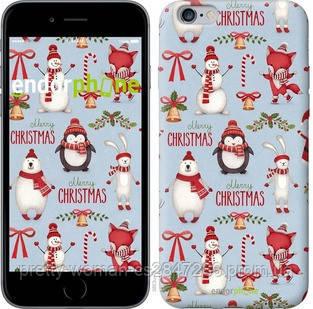 "Чехол на iPhone 6 Plus Рождественский ""3863c-48-19414"""
