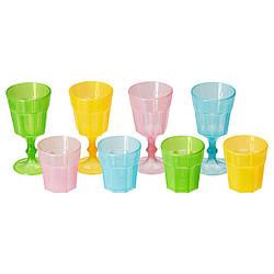 IKEA DUKTIG (001.906.89) Набор стаканчиков, разноцветное