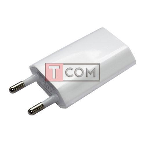 Адаптер Apple 220В з USB виходом 1A біла
