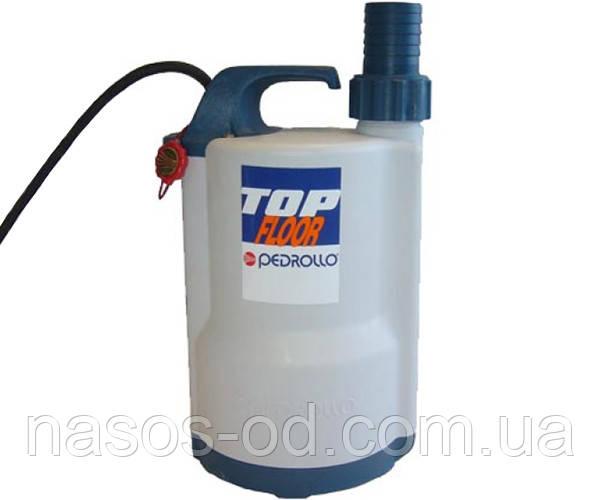 Дренажный насос Pedrollo TOP FLOOR-1 садовый для колодцев 0.25кВт Hmax6м Qmax120л/мин