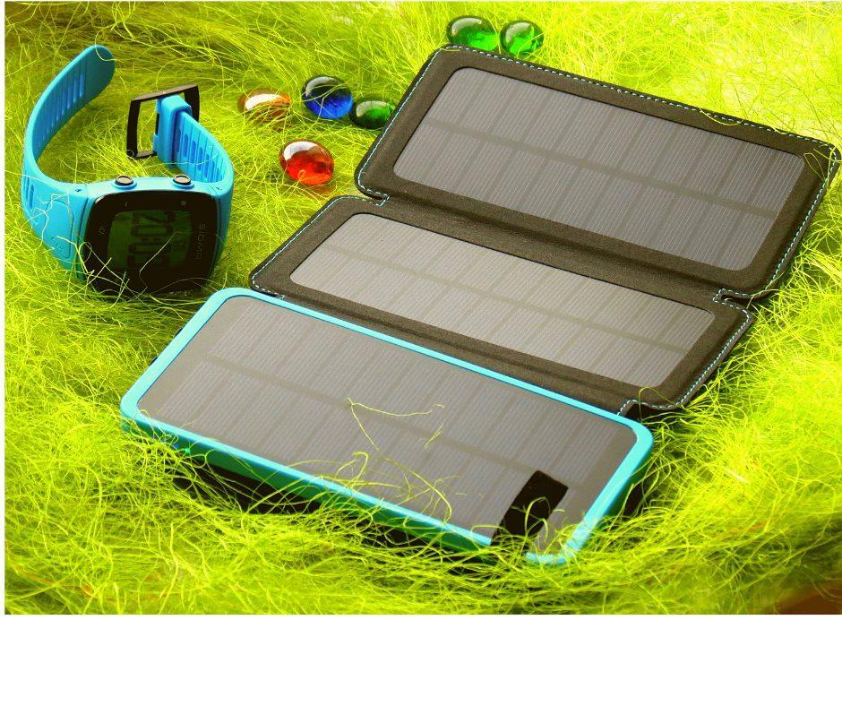 Спортивные часы Sigma Sport ID.Run HR GPS + Зарядное устройство FEELLE Solar 24000mAh (SC-0010)