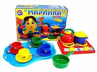 """Набор посуды """"Маринка"""" в коробке ТехноК 1554"""