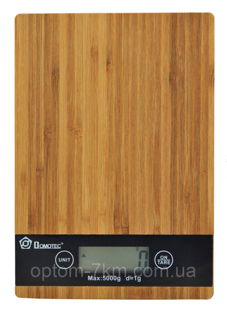 Электронные кухонные весы Domotec MS-A до 5 кг S