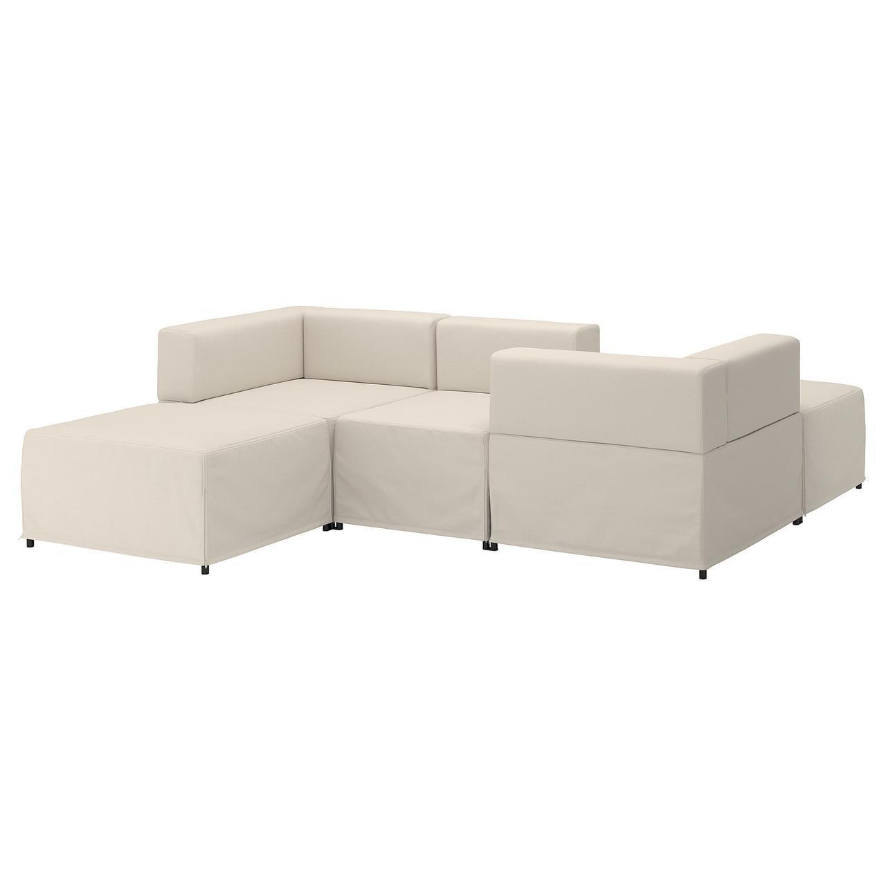 IKEA KUNGSHAMN (692.513.93) 3-местный модульный диван, Idekulla meringue