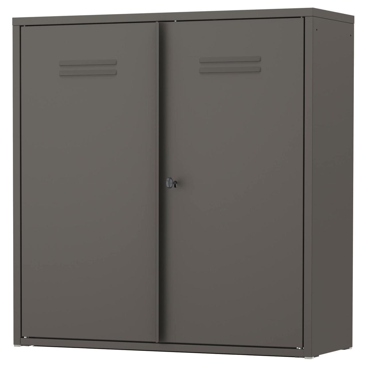 IKEA IVAR (103.242.35) Шкаф, серый