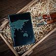 "Обложка для паспорта Shabby Alga ""World Map"" , фото 5"