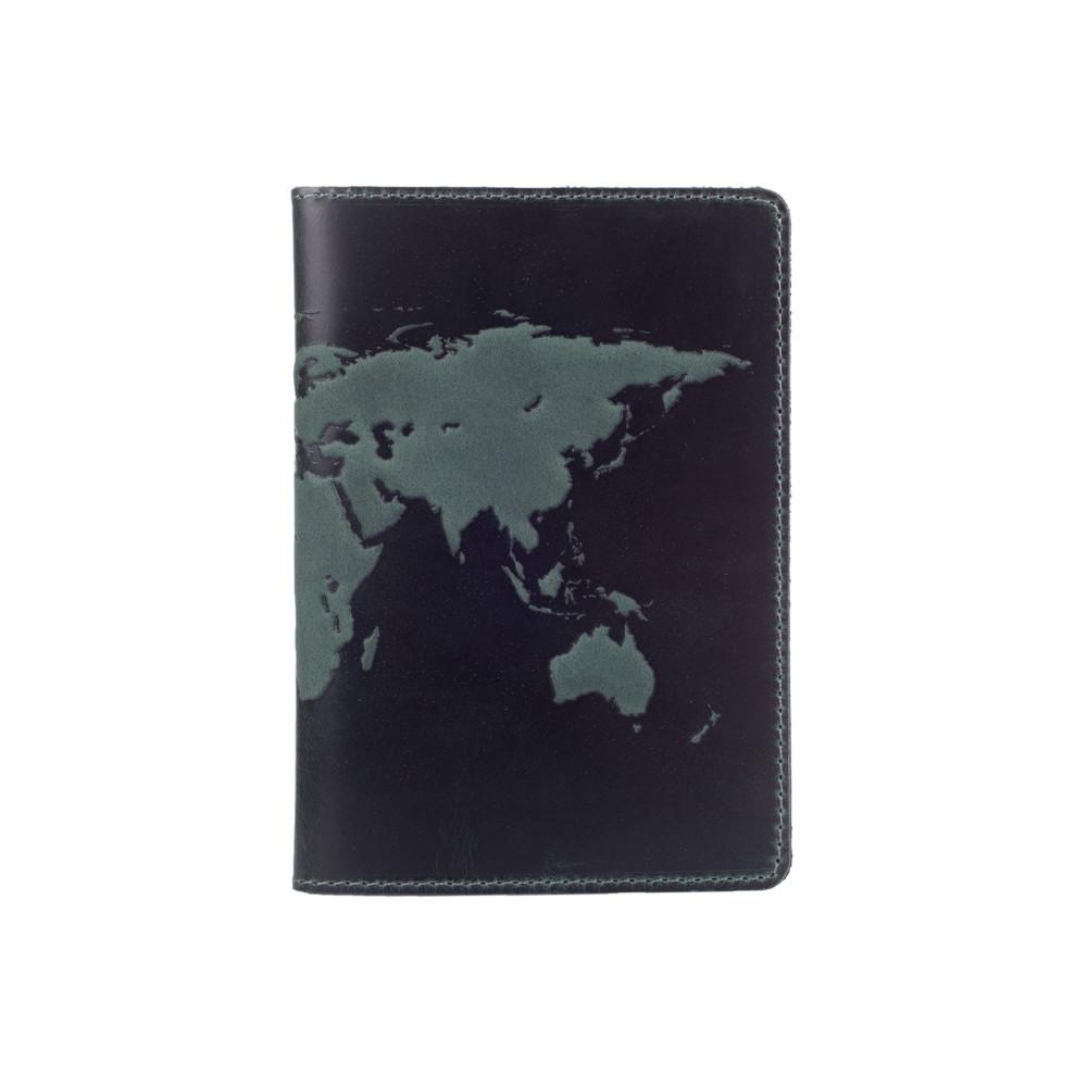 """Обложка для паспорта Shabby Alga """"World Map"""""""