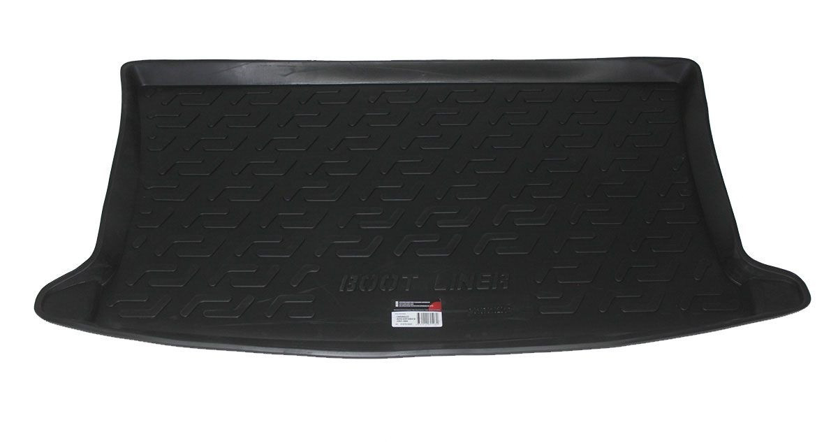 Коврик в багажник для Chevrolet Aveo HB (03-06) полиуретановый 107010201