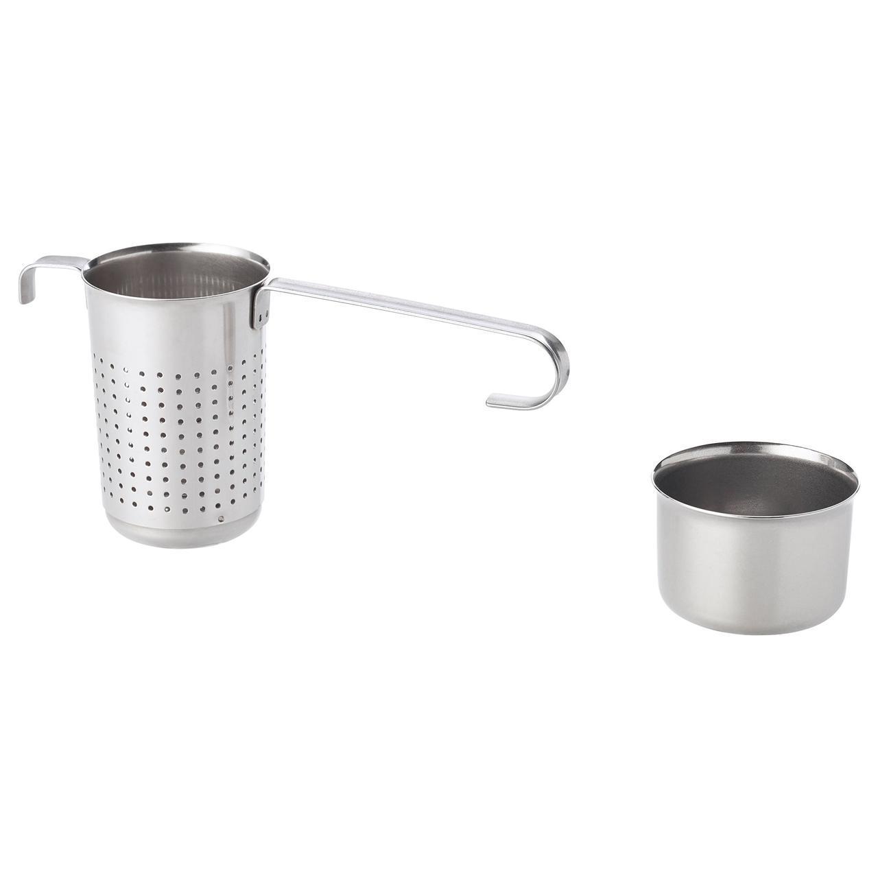 IKEA LJUDLOS (803.602.39) Чайный, ситечко, нержавеющая сталь