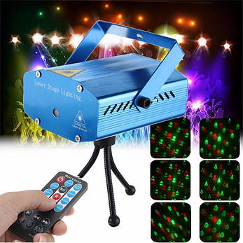 Лазерный проектор с рождественскими узорами, фото 2