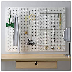 IKEA SKADIS (492.166.97) Перфорированная доска, белый