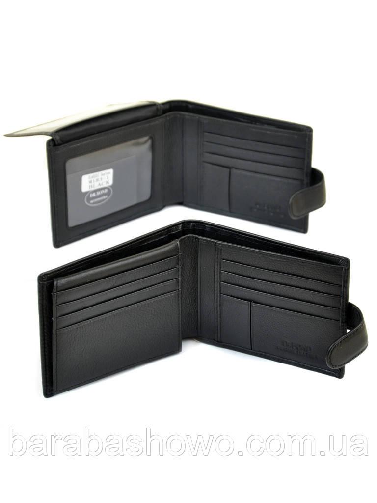Кошелек Classic кожа DR. BOND M183-1 black