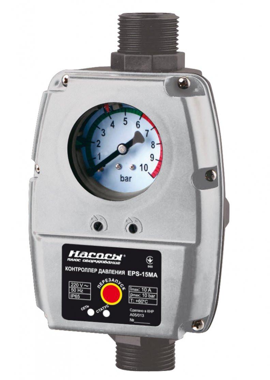 Контроллер давления EPS-15MA Насосы+ до 7 бар