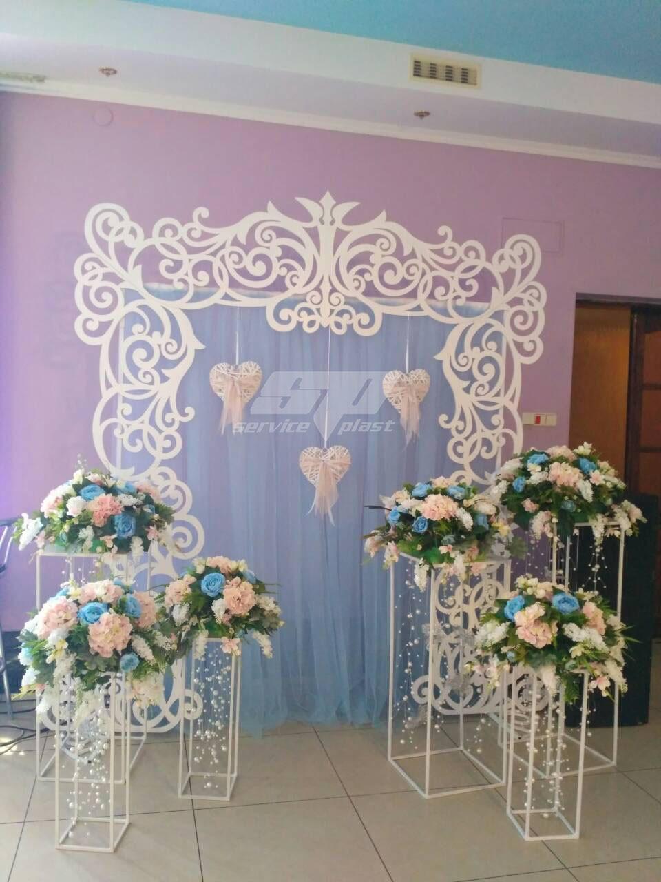 Стойки лофт, консоль (свадебные колоны, тумбы), свадебный декор