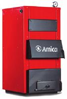 Amica Solid 23 кВт. котел твердотопливный стальной
