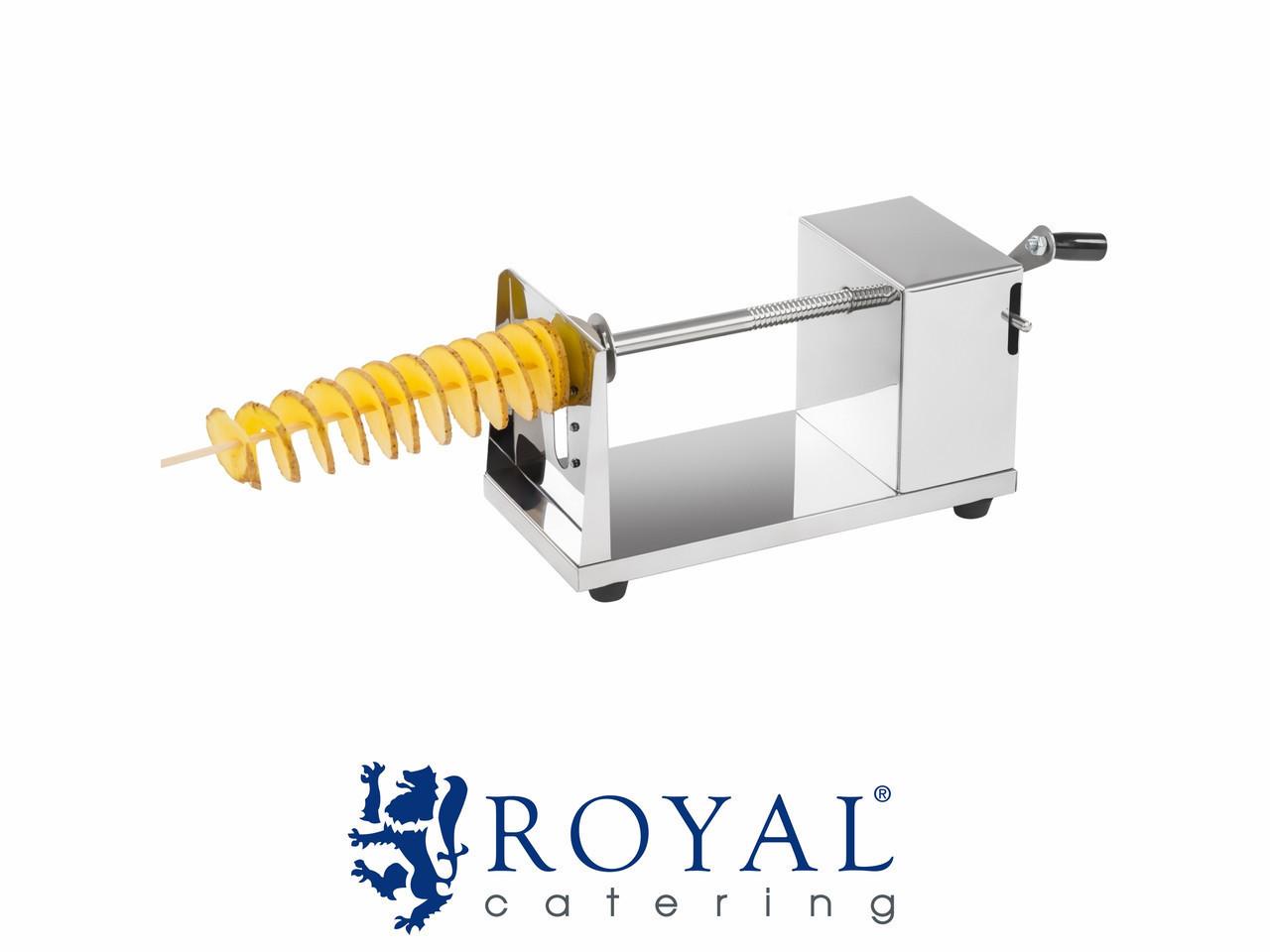 Машина для скрученного картофеля на палочке ROYAL