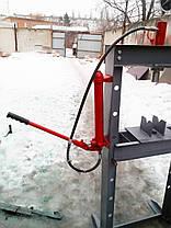 Пресс пневмогидравлический напольный 30 тонн эконом, фото 2