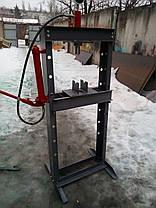 Пресс гидравлический напольный 20 тонн эконом, фото 3
