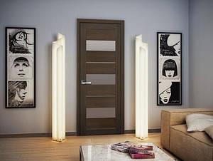 Межкомнатная дверь Лилу в новом покрытии ПВХ Ультра