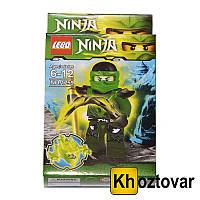 """Фигурка-конструктор для детей от 6 до 12 лет """" Ниндзяго. Ллойд"""" LEBQ Ninja №1759"""