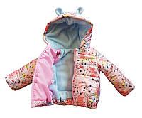 Детская демисезонная куртка Mickey 9м Flowers (AR0674)