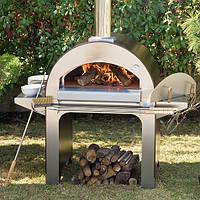 4 pizze 4 пиццы - Печь для пиццы на дровах. Alfa Pizza. Италия