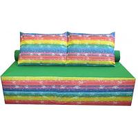 Бескаркасный диван кровать Радуга 160-100 см, фото 1