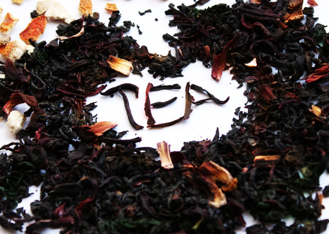 Черный чай с добавками