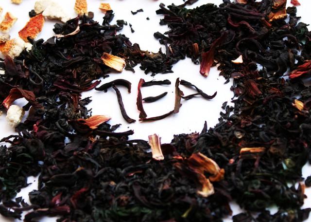 Чорний чай з добавками