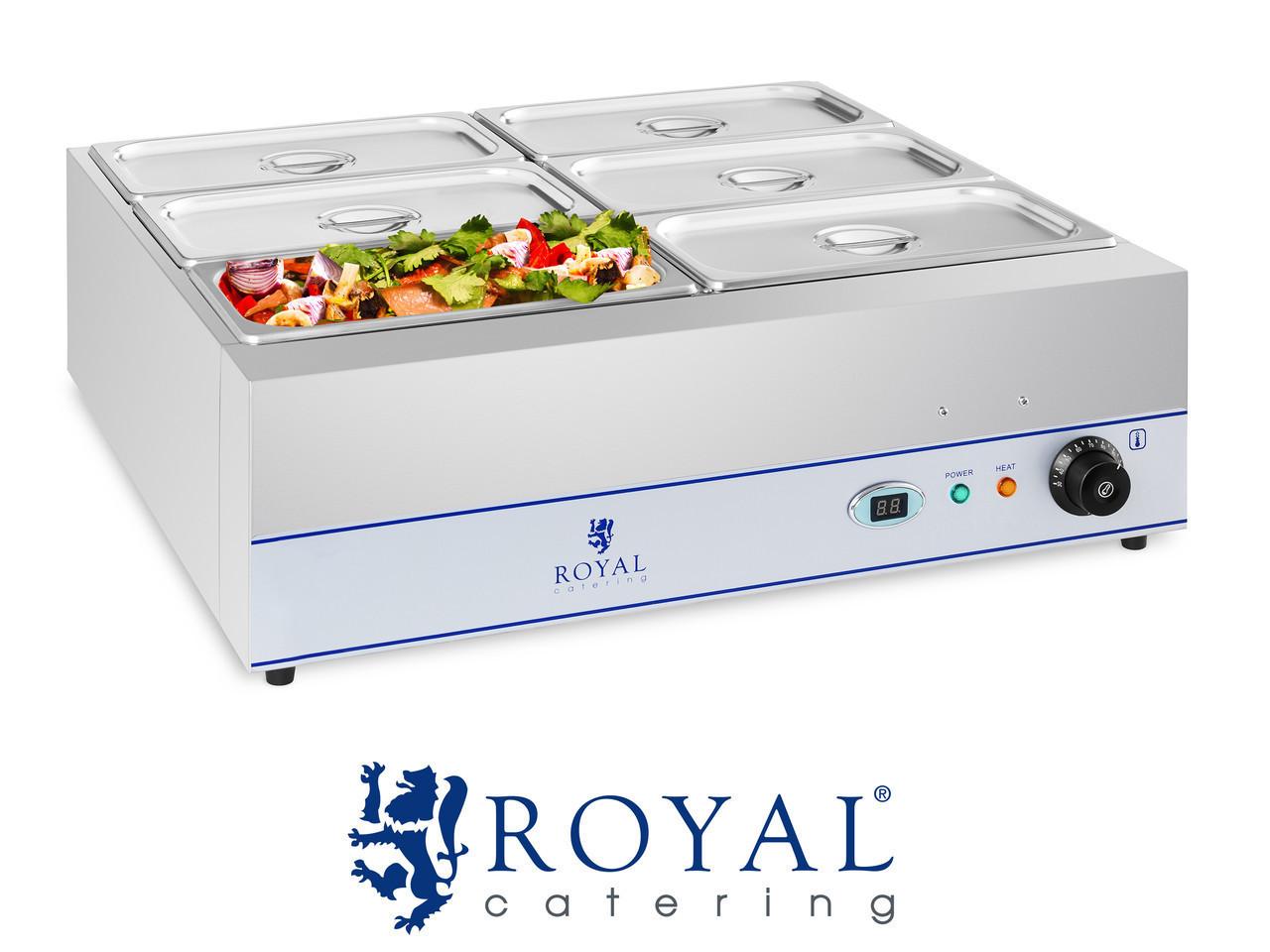 Обладнання для зберігання теплих страв ROYAL