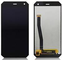 Дисплей (экран) Sigma PQ24 PQ28 mobile X-treme, Nomu S10, Archos 50 Saphir с тачскрином в сборе (Ver1), черный