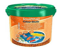 Корм для прудовых рыб Tetra Pond Colour Sticks, 10 л