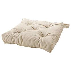 IKEA MALINDA (102.092.02) Подушка для кресла, светлая