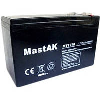 Аккумулятор 12V 7Ah Mastak (MT1270 / 6FM7)